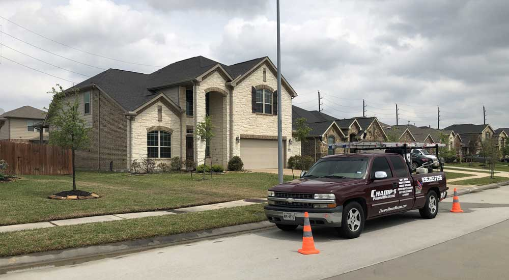 Professional Power Washing Services Spring TX